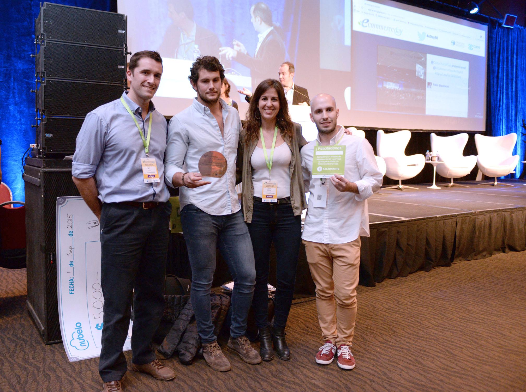 El eCommerce StartUp Competition premió a los 3 mejores emprendimientos de comercio electrónico del país