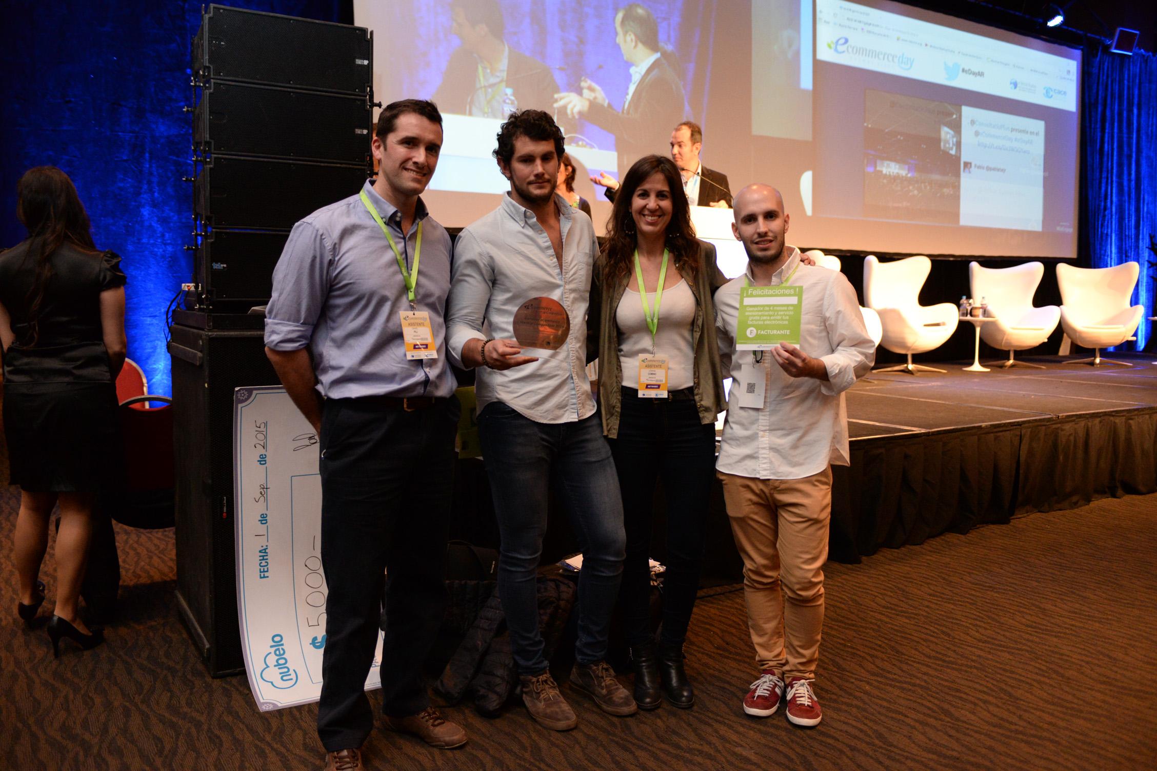 Estos fueron los ganadores del eCommerce Startup Competition Argentina 2015